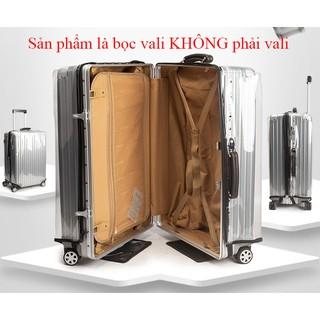 [Hàng Có Sẵn]Bọc vali trong suốt cao cấp chống nước chống trầy thumbnail