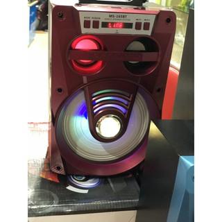 Loa Bluetooth Osda MS-165BT Máy nghe nhạc di động ngoài trời, có FM