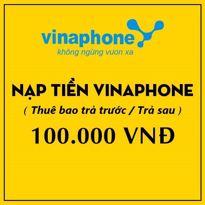 THẺ CÀO VINAPHONE 100K - Thẻ Cà