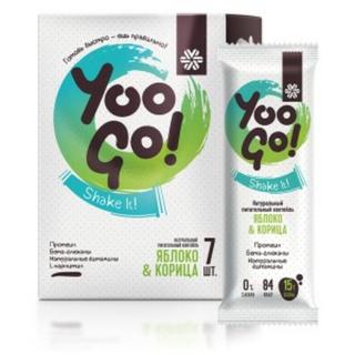 Thực phẩm dành cho chế độ ăn đặc biệt, phát triển cơ bắp Diet Shake (Apple and Cinnamon) YOO GO thumbnail