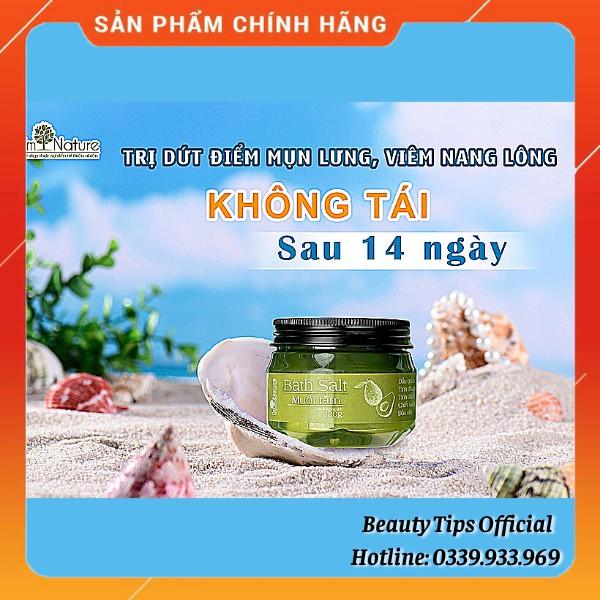 (Chính Hãng) Muối Tắm Thảo Mộc I'M NATURE Ngăn Ngừa Mụn Lưng - Rôm Sảy - Nang Lông 220Gr