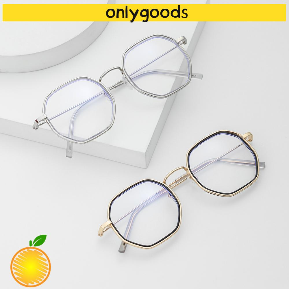 🎉ONLY🎉 -1.0~-4.0 Myopia Glasses Reduces Eye Strain Anti-UV Blue Rays Flat Mirror Eyewear Metal Round Frame High-definition Ultralight Unisex Eyeglasses