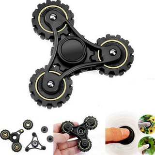 Gear Linkage Tri Fidget Hand Spinner Abs Torqbar Finger Toy Edc Focus Gyro