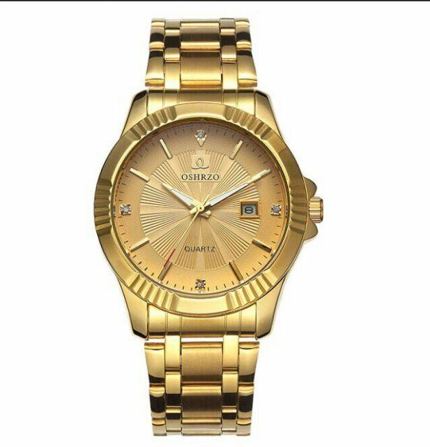 Đồng hồ Oshrzo dây kim loại cực sang trọng cho quý ong