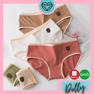 [Mã FASHIONXANH264 giảm 10k đơn 50K] Quần lót nữ cotton Y Tế Nhật đơn giản rẻ đẹp Dolly Secret XUKA QL001 thumbnail