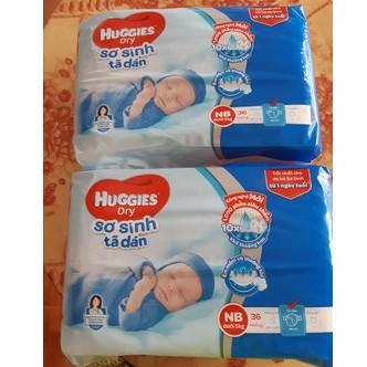 Tã dán sơ sinh Huggies NB36/ NB72/ NB58+2 (cho bé dưới 5kg) - 2582685 , 1261047718 , 322_1261047718 , 94000 , Ta-dan-so-sinh-Huggies-NB36-NB72-NB582-cho-be-duoi-5kg-322_1261047718 , shopee.vn , Tã dán sơ sinh Huggies NB36/ NB72/ NB58+2 (cho bé dưới 5kg)