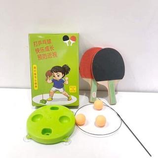 [Giá Gốc] Bộ bóng bàn 2 người tập kĩ năng phản xạ cho bé