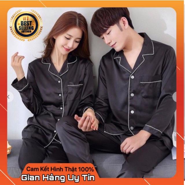 Bộ quần áo lụa satin cao cấp nam nữ đủ size sang chảnh (FREESHIP) BQA001