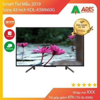 Smart Tivi Sony 43 inch KDL-43W660G Mẫu 2019 thumbnail