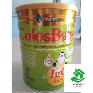 Combo 6 Lon Sữa Non ColosBaBy gold IgG1000 800g 1 DateT02.2022