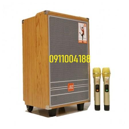 Loa kéo di động JBZ 1203 Hàng chính hãng, Loa công suất lớn Bass 3 tấc hát karaoke gia đình + Tặng 2 micro