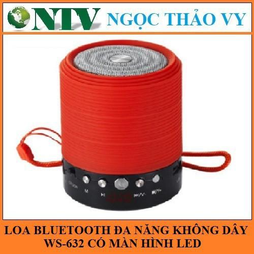 Loa bluetooth đa năng không dây WS-632 - có màn hình Led ( Giao màu ngẫu nhiên ) - 15134916 , 2698327037 , 322_2698327037 , 225400 , Loa-bluetooth-da-nang-khong-day-WS-632-co-man-hinh-Led-Giao-mau-ngau-nhien--322_2698327037 , shopee.vn , Loa bluetooth đa năng không dây WS-632 - có màn hình Led ( Giao màu ngẫu nhiên )