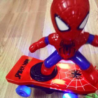 Người nhện lướt ván có nhạc, đèn led bắt mắt
