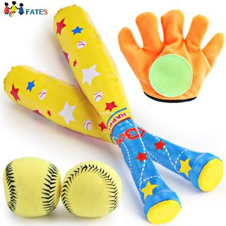 4pcs/set Children's Baseball Playset Toy Interactive Toys for Fun Leisure Activities