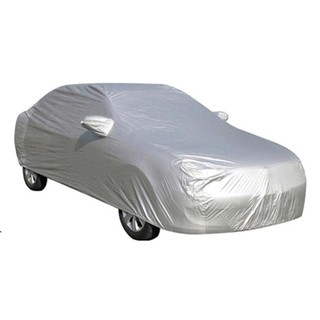 Bạt phủ oto tráng bạc chống nóng - loại 1 dày dặn cho xe 4-5-7 chỗ thumbnail