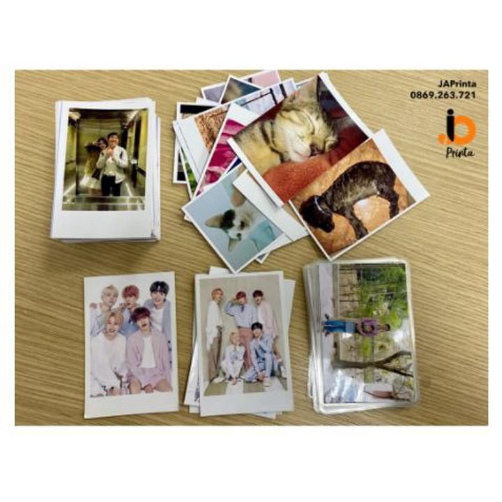[NOWSHIP] In ảnh 6x9. In ảnh polaroid - Combo 50 hình, in càng nhiều càng rẻ.