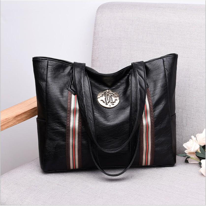 Túi xách nữ công sở bản to da mềm thời trang hàng quảng châu cao cấp - BS8