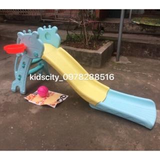 Cầu trượt cho bé máng dài 1m7 (sẵn hàng)