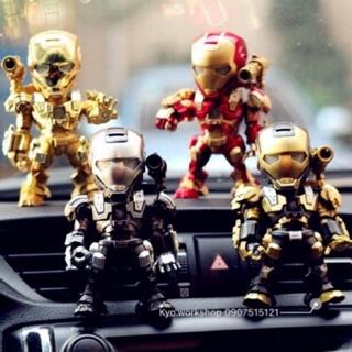 Mô hình figure Ironman WarMachine có đèn Led cảm ứng tiếng động