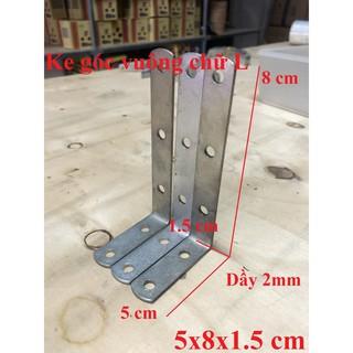 Ke góc vuông chữ L bản rộng 1.5cm ( 5x8x1.5 cm )