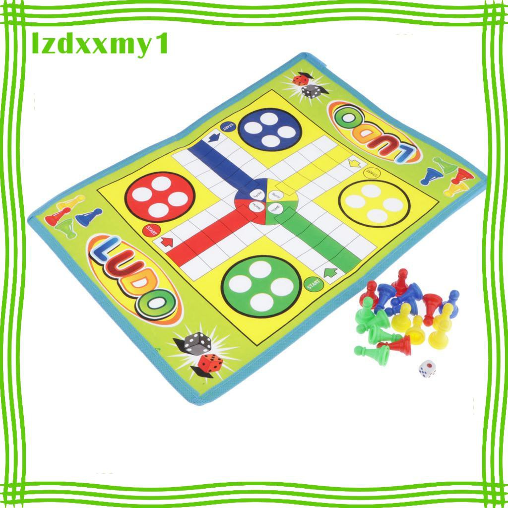 Kiddy Flight Chess Game Ludo Board Game Family Children Fun Table Game