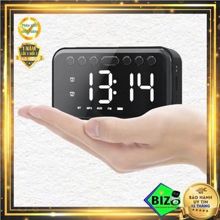 [Mã ELFLASH5 giảm 20K đơn 50K] [HOT TREND - CAO CẤP] Loa bluetooth thông minh kiêm đồng hồ LED, đồng hồ báo thức, FM