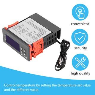 Máy điều chỉnh nhiệt độ trong buồng ấp trứng STC-1000110V 220V 10A tiện dụng/Bộ điều khiển nhiệt độ