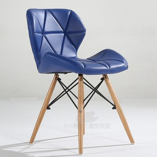 9 Colors optional Eames dining table and chairs coffee chair butterfly chair sol