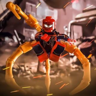 [Non-LEGO] Bộ Sưu Tập Siêu Anh Hùng Spider Man – Đồ Chơi Lắp Ráp Xếp Hình FH3002