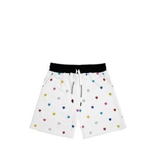 Multicolor Monogram Shorts - White thumbnail