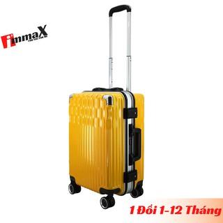 Vali kéo khung nhôm nắp gập size 20inch xách tay lên máy bay immaX A19 bảo hành 2 năm chính hãng, 1 đổi 1 trong 12 tháng thumbnail