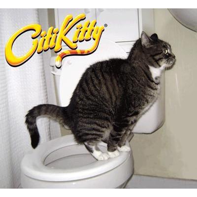 VGT-Bộ dạy mèo đi vệ sinh bồn cầu (LOẠI CÓ HỘP GIẤY) nắp bồn cầu cho mèo, huấn luyện mèo đi vệ sinh đúng chỗ