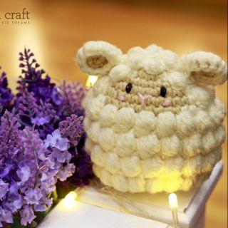 Cừu Poppy lục lạc Handmade cao cấp