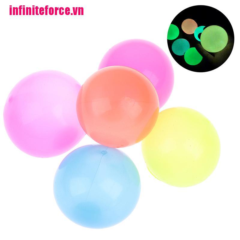 [IN*VN]1PC 5CMStick Wall Ball Stress Relief Ceiling Balls Squash Ball Toy Sticky Target