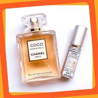 Nước Hoa Chính Hãng Mẫu Chiết Nước Hoa Chính Hãng Chanel Coco Mademoiselle Intense EDP (5ml-10ml) HOT thumbnail