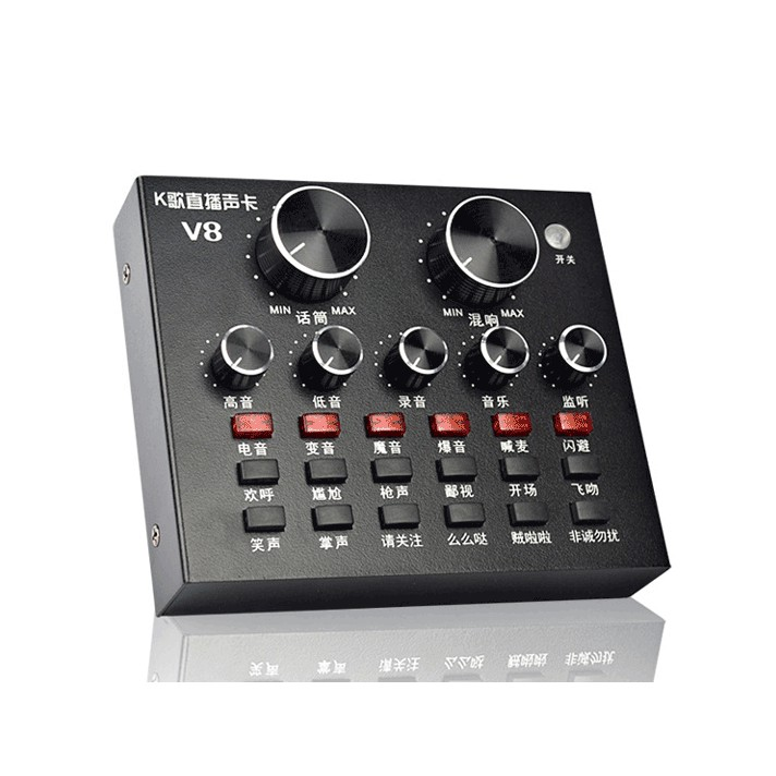 Sound card thu âm hát karaoke V8 ad.1t - 2582169 , 1107659566 , 322_1107659566 , 630000 , Sound-card-thu-am-hat-karaoke-V8-ad.1t-322_1107659566 , shopee.vn , Sound card thu âm hát karaoke V8 ad.1t