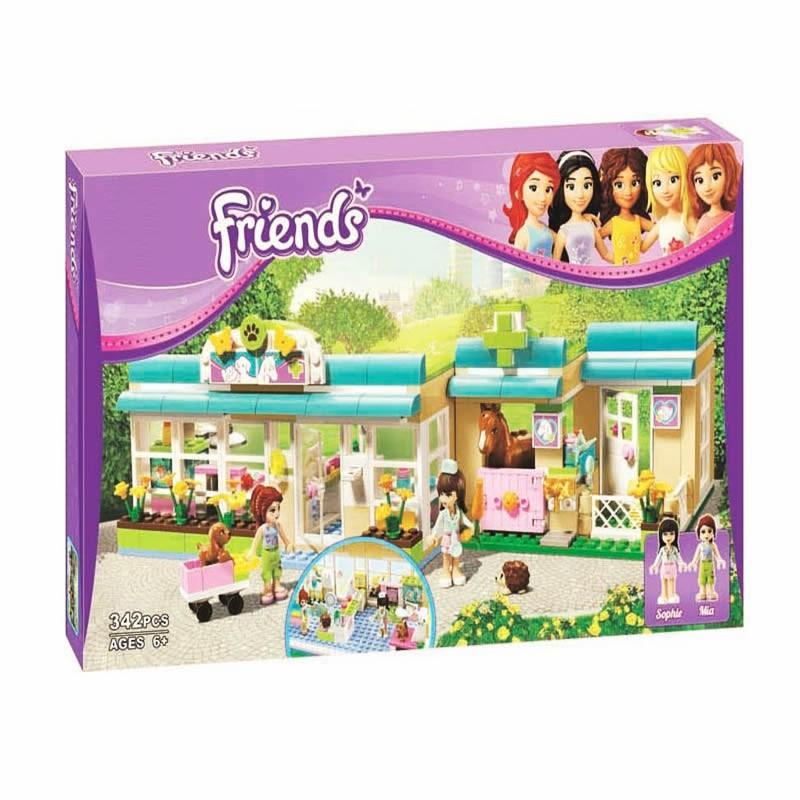 Lego Friends 10169 - Phòng khám bác sĩ thú y - 342 chi tiết