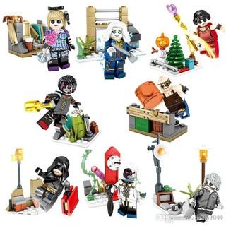 Bộ 8 hộp lego lắp ráp xếp hình Minifigures Nhân vật game Identity SY1278