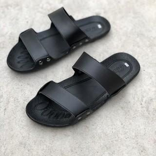 Dép da nam sandal da bò đế nguyên khối [LT] thumbnail
