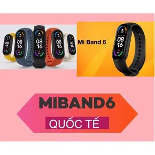 Vòng tay thông minh Miband6 Xiaomi bản Quốc Tế Mi band6 chính hãng thumbnail