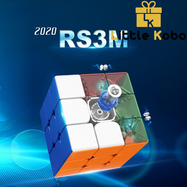 Rubik 3x3 RS3M 2020 MF3RS3 M Rubic Nam Châm 3 Tầng Stickerless MF3RS V3 M (Hãng Mod)
