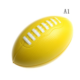 ☆VN Stress Relief Vent Ball American Football Squeeze Foam Rugby Ball Outdoor Toys