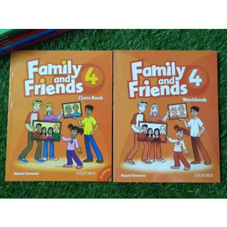 Family and Friends 4 (SB + WB +CD)