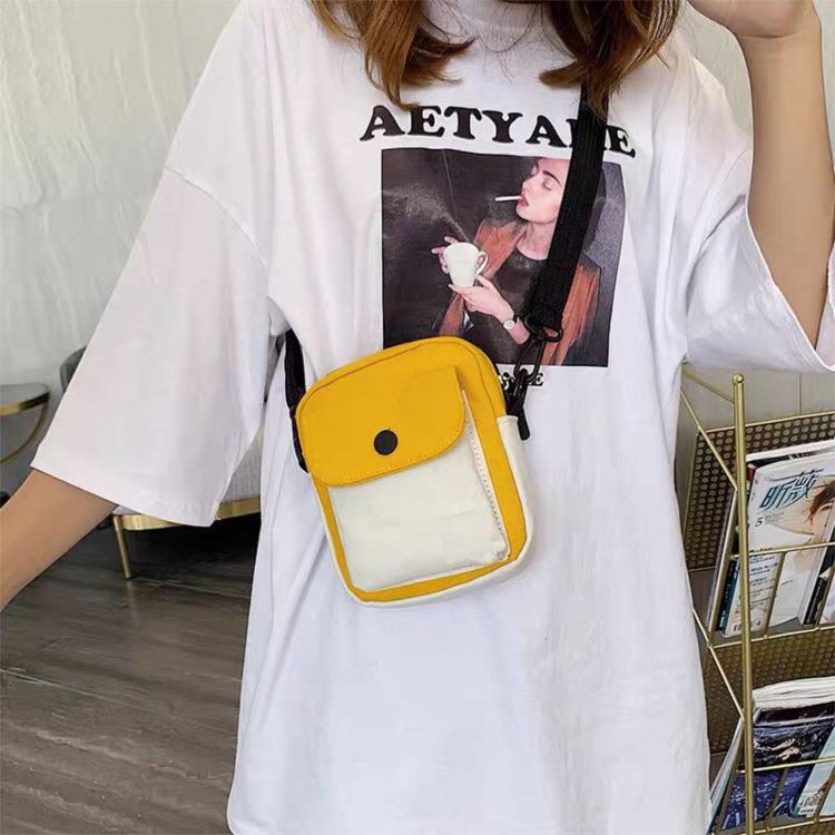 [ MẪU MỚI NHẤT ] Túi tote vải đeo chéo đựng điện thoại mini thời trang vải canvas cao cấp phong cách Hàn Quốc