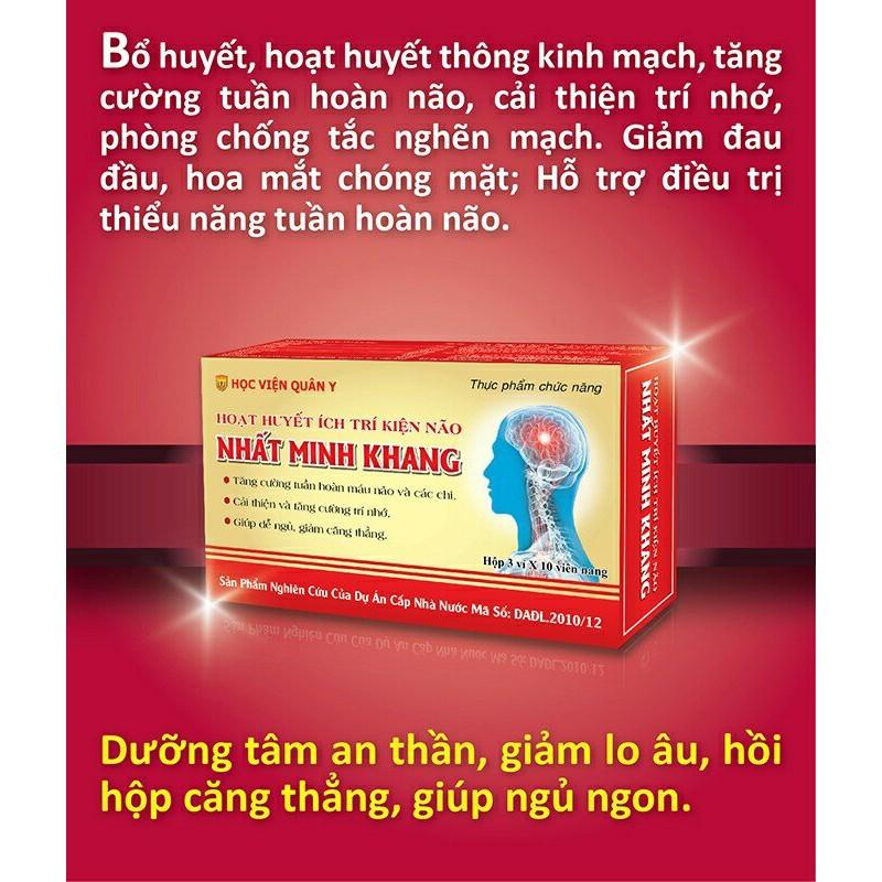 Nhất Minh Khang - Hoạt huyết ích trí kiện não - 2857880 , 750863852 , 322_750863852 , 90000 , Nhat-Minh-Khang-Hoat-huyet-ich-tri-kien-nao-322_750863852 , shopee.vn , Nhất Minh Khang - Hoạt huyết ích trí kiện não