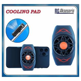 Quạt tản nhiệt làm mát có giá đỡ điện thoại thumbnail
