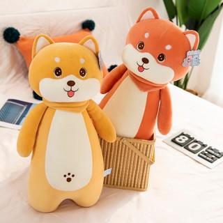Shiba Inu Doll Cute Dog Bed Plush Toy Doll Doll Sleeping Super Soft Leg Pillow Gift Girl