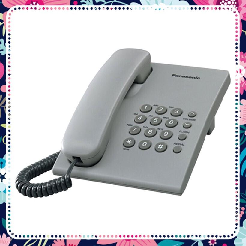 [HÀNG CHẤT GIÁ SỐC] Điện thoại bàn có dây Panasonic KX-TS500 (Trắng)