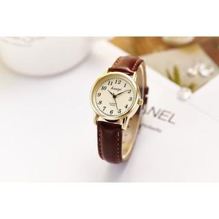 Đồng hồ nam nữ Kasiqi dây da thời trang SP684 (Nhiều màu) thumbnail