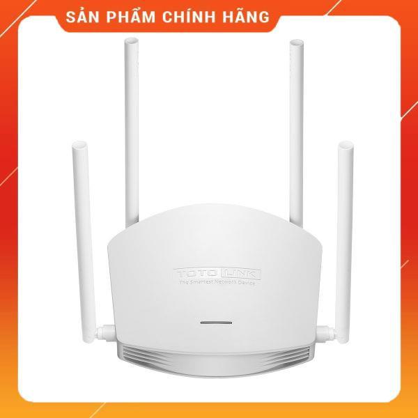 [Mã 267ELSALE hoàn 7% đơn 300K] Bộ phát wifi Totolink N600R 4 râu dailyphukien